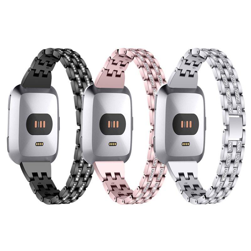 Bandas delgadas compatibles para reversa/reversa Lite/SE Smartwatch Dressy pulsera de Metal joyería pulsera de acero mujer nuevo