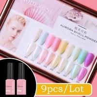 15ml 9 colors gel nail polish nail color nail gel varnish soak off uv gel varnish base coat no wipe top coat
