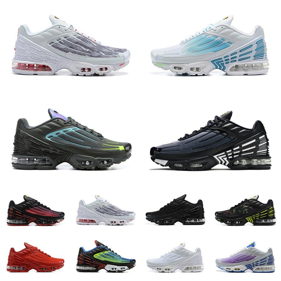 Hyper Blue Void Plus Shoes TN3 Tuned 3 Laser Violet Triple White Black Green Obsidian Vast Wolf Grey