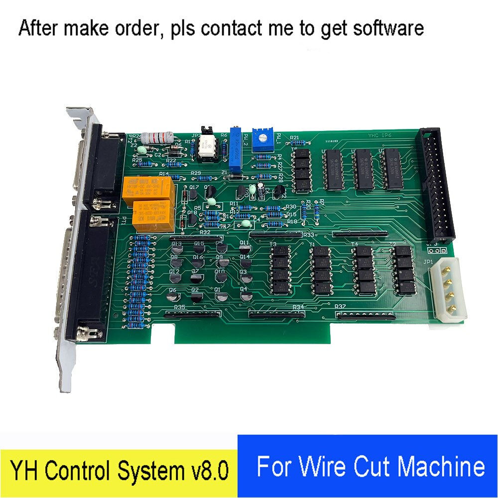 WEDM الأصلي YH بطاقة V8.0 لوحة النظام التحكم على أساس ويندوز 98 ل نك إدم ماكينة تقطيع أسلاك