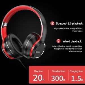 Image 2 - Lenovo HD200 Bluetooth беспроводные стерео наушники BT5.0 долгого ожидания жизни с закрывающие шум для мобильных телефонов Lenovo гарнитура