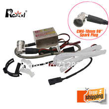 Rcexl Ignition CDI CM6-10mm 90 Degree Spark Plug DA DLE Gas Petrol Engine Rc Airplane for DLE20/DLE30/DLE55/CRRCpro GP26R/GP50R