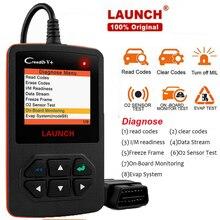Запуск диагностики автомобиля Obd 2 сканер инструмент для авто гараж сканер Obd Автомобильный инструмент диагностика двигателя код ридер Creader V +