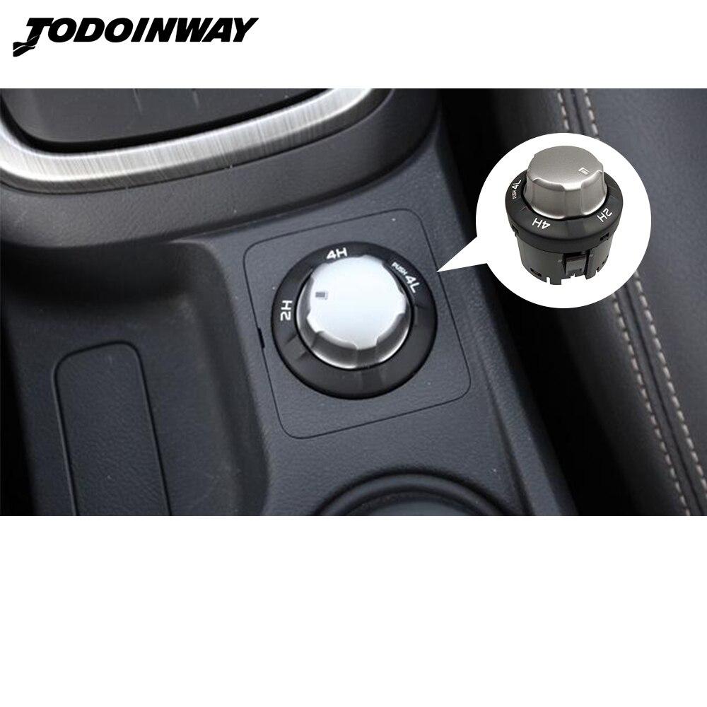 Para Isuzu D-MAX Dmax MU-X Mux 2012, 2014, 2016, 2018 4WD interruptor de cuatro ruedas botón de la caja de cambios interruptor