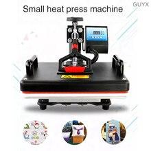 Multi-function shaking head flat heat press machine T-shirt flat heat transfer machine heat transfer machine