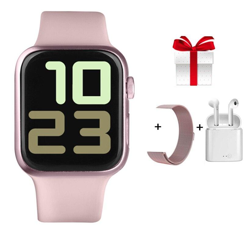 Reloj inteligente PK W-series34 resistente al agua IP68 para mujer, Monitor de presión arterial para dormir, oxígeno, para Iphone Xiaomi, Samsuang Huawei