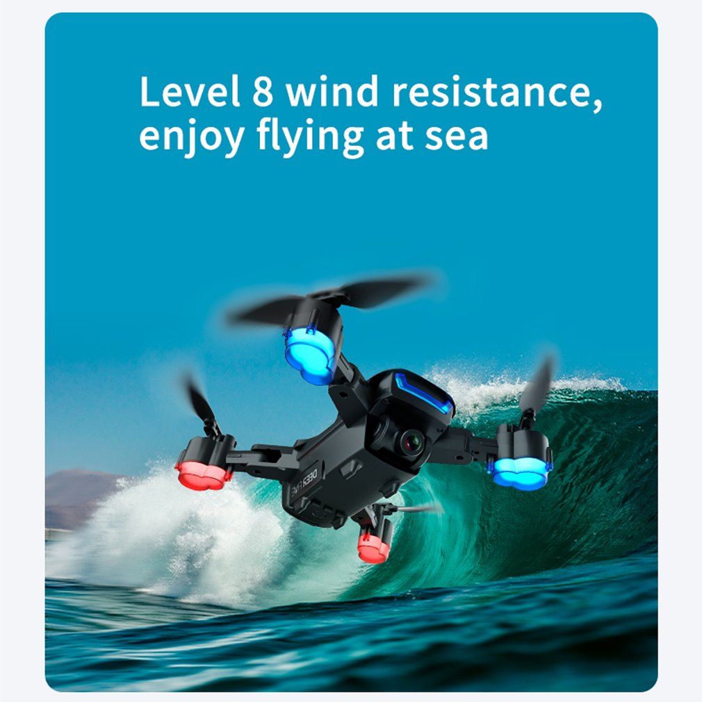 2021NEW LU5 drone and 4K camera dual camera GPS height hold headless mode WiFi FPV coreless motor drone 4k professional enlarge
