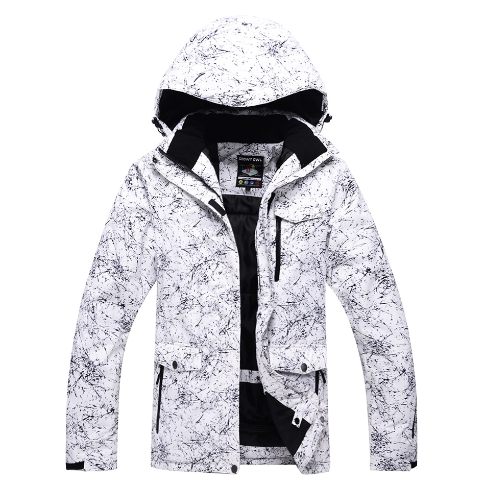 Зимние теплые лыжные куртки до-30 градусов, мужские и женские зимние куртки, уличные лыжные пальто, сноубординг, водонепроницаемая ветрозащи...