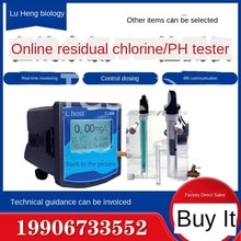 Eaux usées en ligne PH détecteur de chlore résiduel dureté de la turbidité ozone oxygène dissous moniteur en ligne multi-paramètres