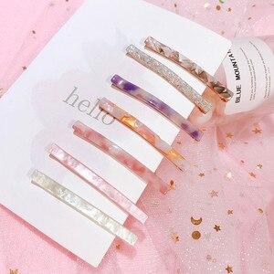 Fashion Hairpin Slide Women's Crystal Snap Grips Hair Clips Barrette Pins Hair Accessories