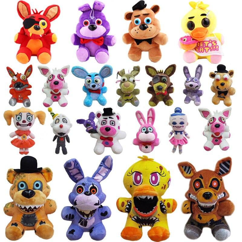 36 стилей 18 см FNAF плюшевые игрушки Dool животные Фантом Фокси мягкая плюшевая кукла для детей Подарки