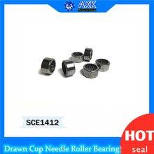 SCE1412 Bearing 22.22*28.57*19.05 mm ( 5 PCS ) Drawn Cup needle Roller Bearings B1412 BA1412Z SCE 1412 Bearing