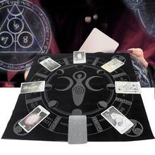 UK 49cmx49cm Altar Tarot Tablecloth Table Cloth Divination Cards Tapestry OD