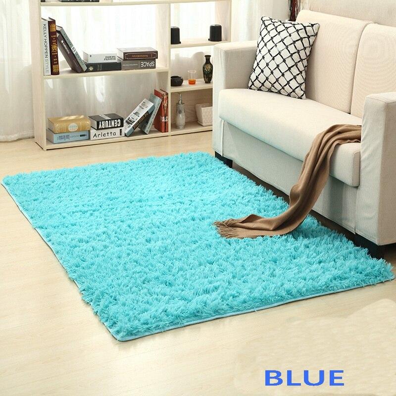 الأزرق Pearlecent أكوا غرفة نوم الحمام شرفة غرفة المعيشة السجاد البساط حصيرة yoga الجدول حصيرة 80*120 سنتيمتر 120*200 سنتيمتر 140*200 سنتيمتر