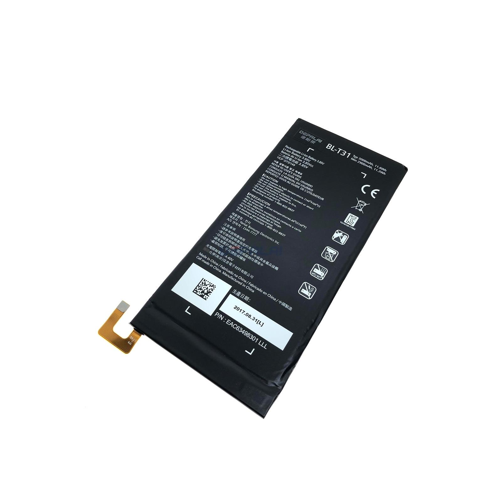 Bateria para lg g almofada f2 8.0 lk460 sprint BL-T31 3000mah