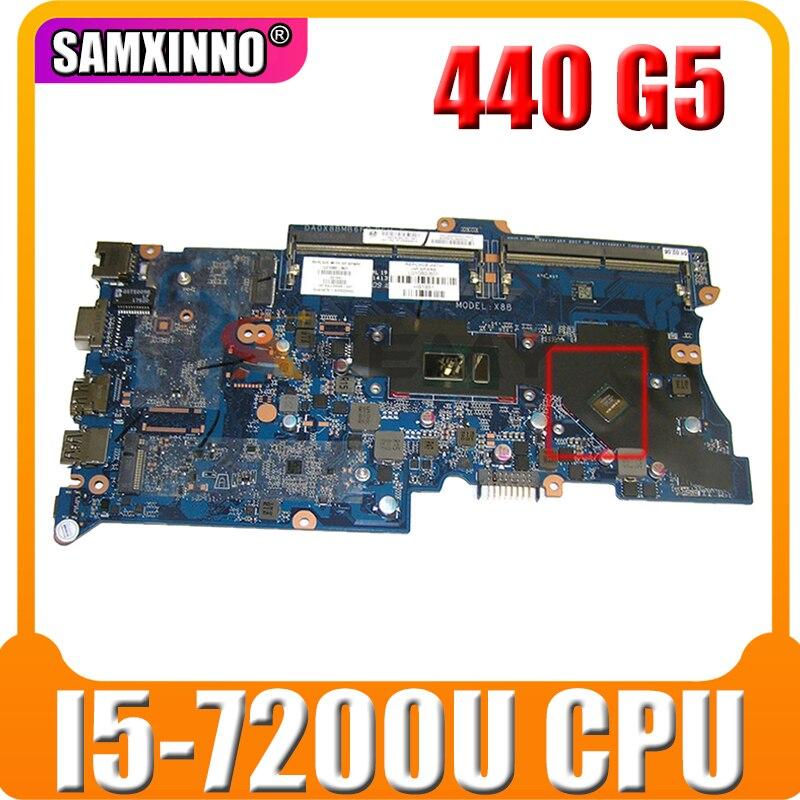 ل HP Probook 430 G5 440 G5 اللوحة المحمول L06798-001 L06798-601 DA0X8BMB6F0 I5-7200U CPU DDR4 2GB