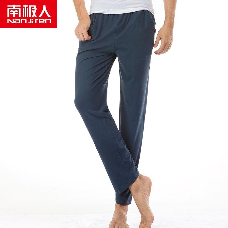 Pantalones de verano NANJIREN de marca de moda para hombre, pantalones de modelo Casual transpirables para hombre, pantalones casuales cómodos de talla grande para Fitness para hombre