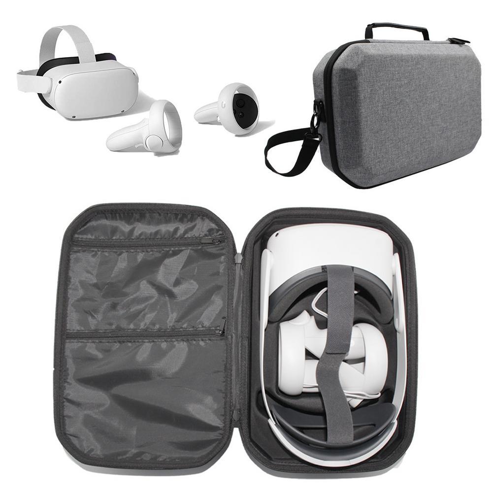 Caixa de Armazenamento para Oculus Fone de Ouvido Caixa de Armazenamento Bolsa para Oculus Viagem Transportando Case Protetor Eva Difícil Acessório Quest2 vr