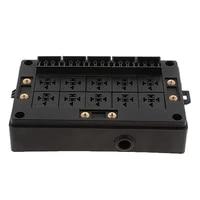 car relay socket black box 18 way blade fuse holder for automotive marine