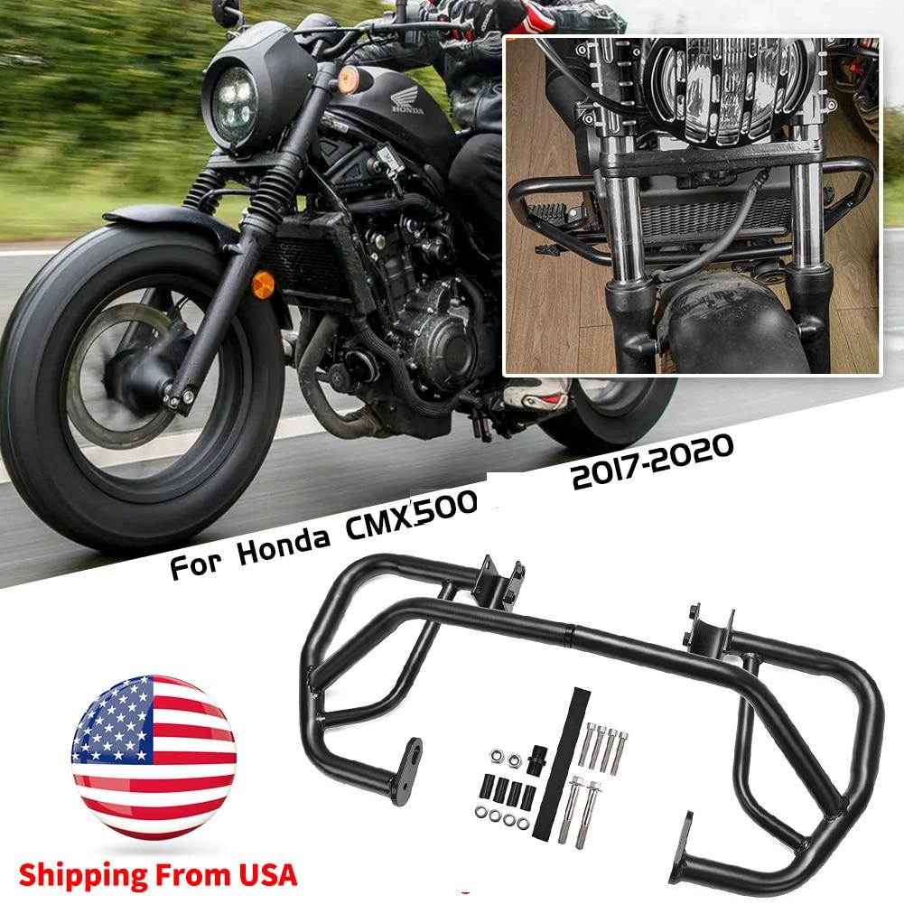Motorcycle Part Engine Guard Bumper Crash Bar Body Frame Protector For Honda Rebel 500 CMX 500 300 C