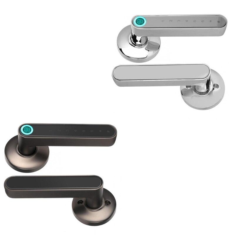 قفل باب دخول بدون مفتاح ببصمة إلكتروني ، قفل لوحة مفاتيح لمس ديدبولت ، قفل للمنزل والمكتب وشقة الفندق N0PB