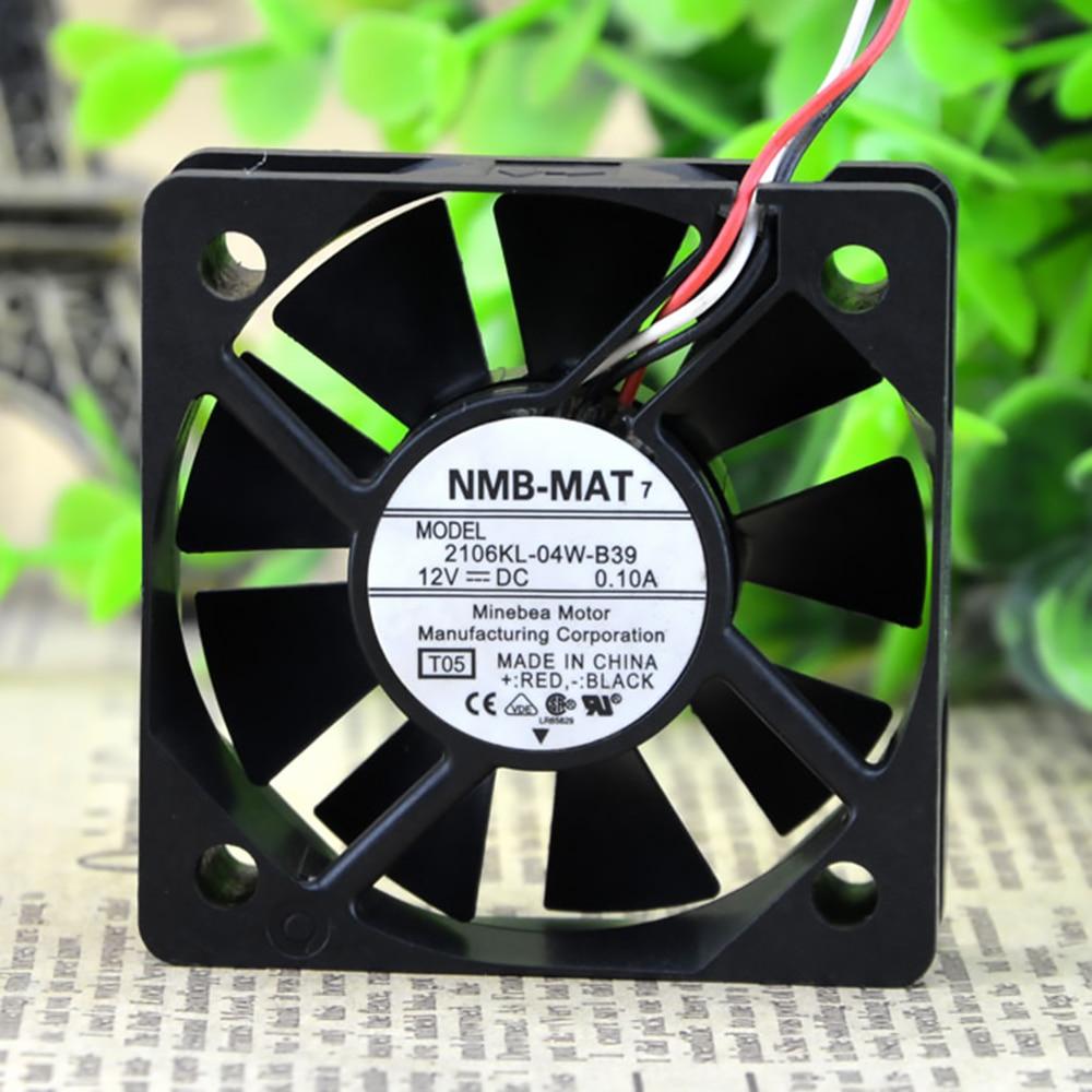 New For NMB 5CM 2106KL-04W-B39 5015 50mm 50X50X15MM Dual Ball DC 12v 0.1a Cooling fan