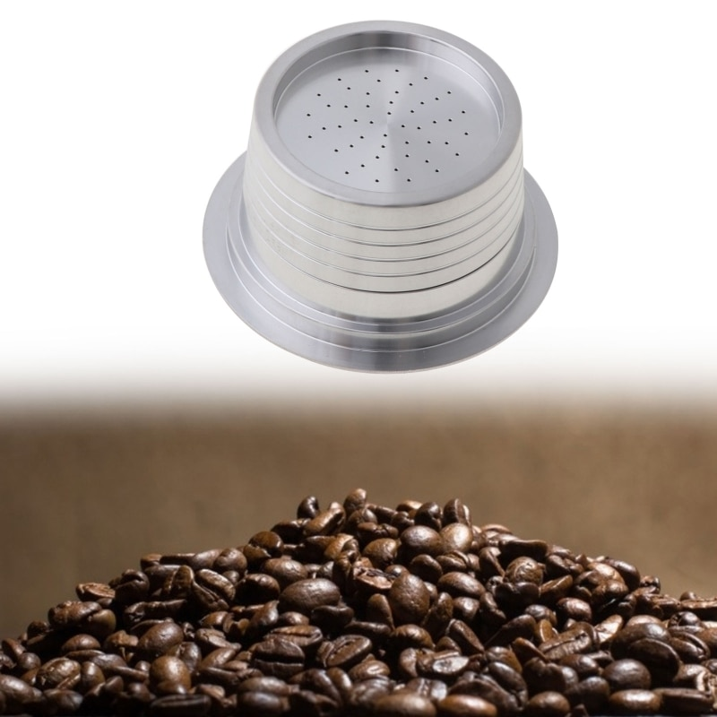 Stainless Steel Coffee Filters Refillable Coffee Capsule Pod For Lavazza Blue