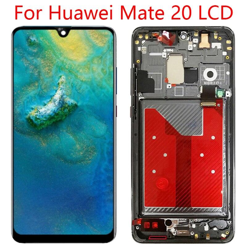 مناسبة ل هواوي زميله 20 LCD تعمل باللمس محول الأرقام HMA-L29 HMA-L09 HMA-LX9 HMA-AL00 HMA-TL00 استبدال أجزاء 6.53 بوصة