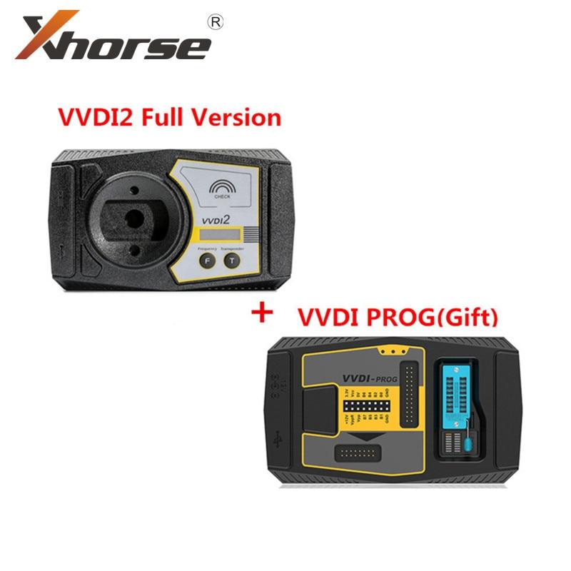 Original Xhorse V6.7.0 VVDI2 Commander Key Programmer Buy VVDI2 FULL Send V4.9.4 Xhorse VVDI PROG as a Gift