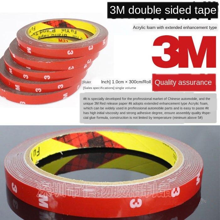 Cinta de espuma para automóvil 3M4229P pegamento de doble cara resistente al agua sin marcar pegamento adhesivo para barra