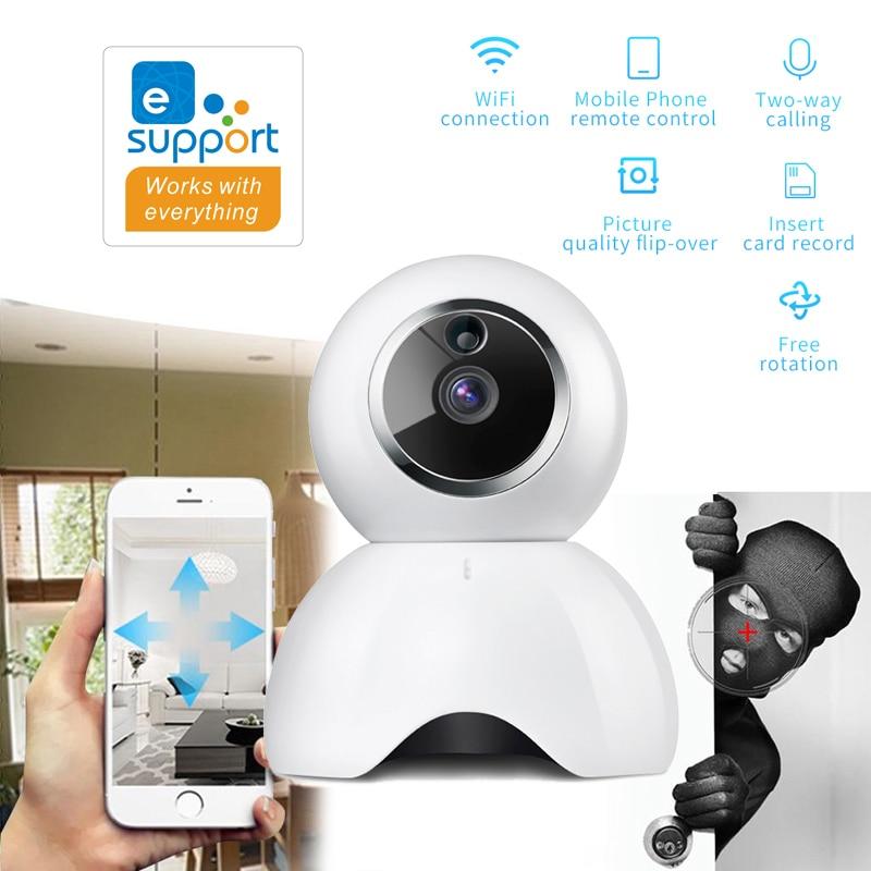 EWeLink Smart IP Camera IOT 720P Camera Reomotely Viewing By Mobile Phone Two-way Audio Intercom Night IR LED