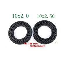 Amortisseur de choc en nid dabeille air libre   Expédition foudre 2 types de pneus 10x2.00 et 10x2.50, pneu résistant aux pneus solides