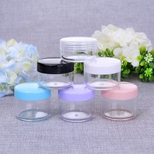 3PCS/Set Women Men Travel Mini Makeup Cosmetic Empty Box Bag Plastic Shower Gel Shampoo Container Pouch Travel Accessories