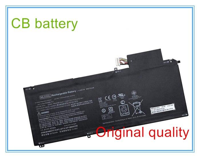 Nueva calidad Original 814060-850 para 12-a001dx Ml03xl hstnn-ib7d tpn-q165 batería