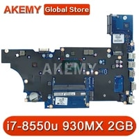 for hp probook 450 g5 laptop motherboard with sr3lc i7 8550u 930mx 2gb l00825 601 l00825 001 da0x8cmb6e0 100 tested fast ship