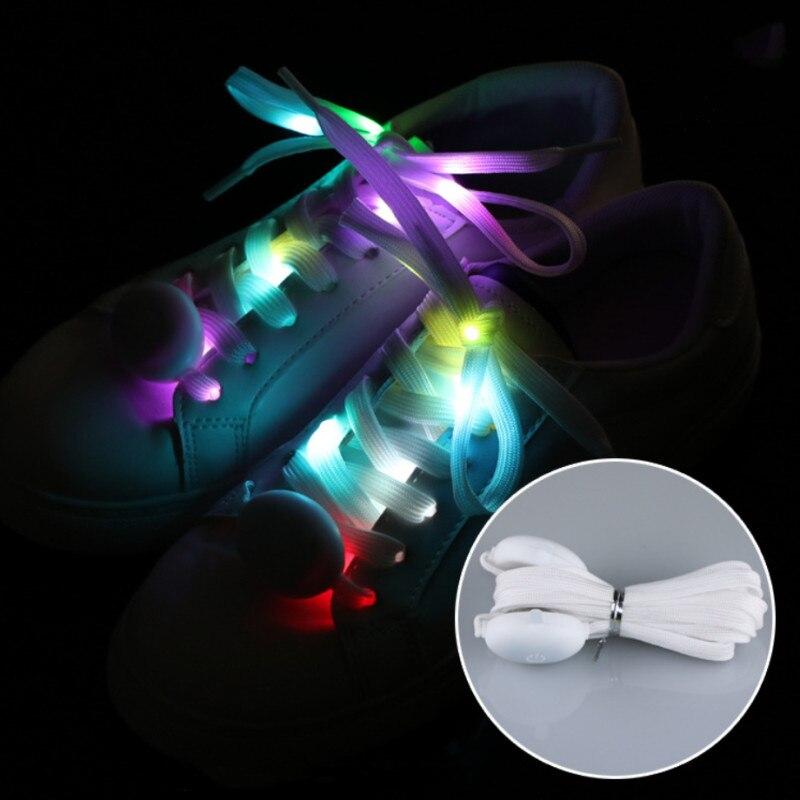 Модные яркие спортивные кроссовки со светодиодной подсветкой для бега и вечеринки, классные нейлоновые высококачественные кружевные кроссовки для мальчиков и девочек, подарок