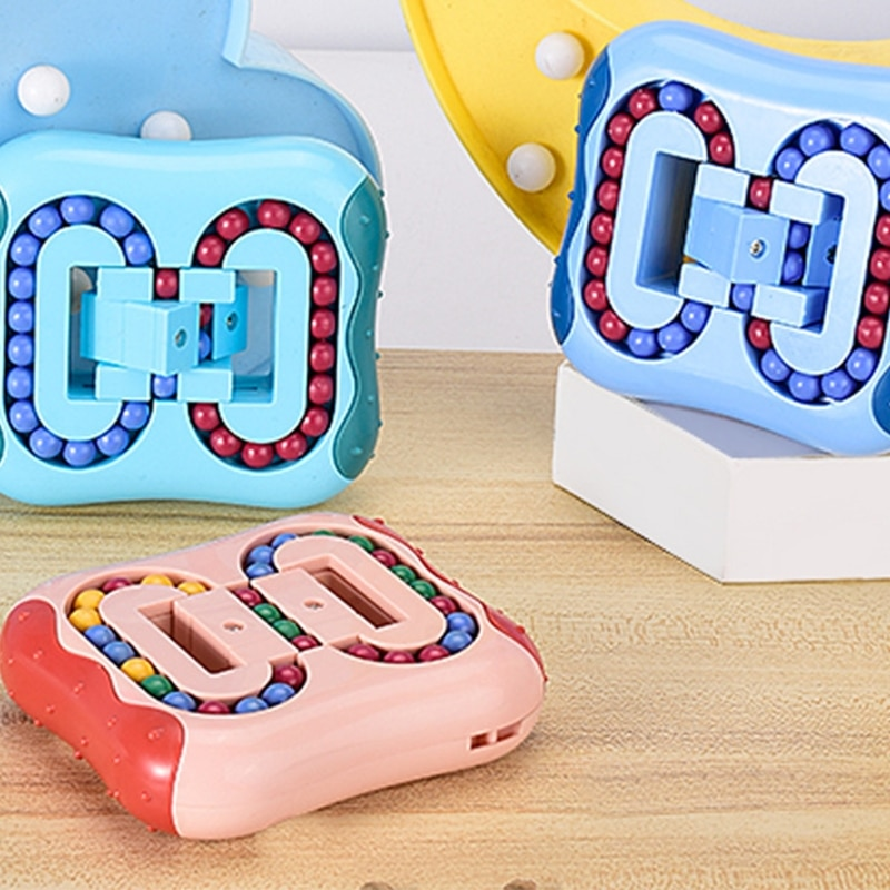 Rotating Magic Bean Fingertip Toy Creative Stress Relief Children's Educational Toys for Kids enlarge