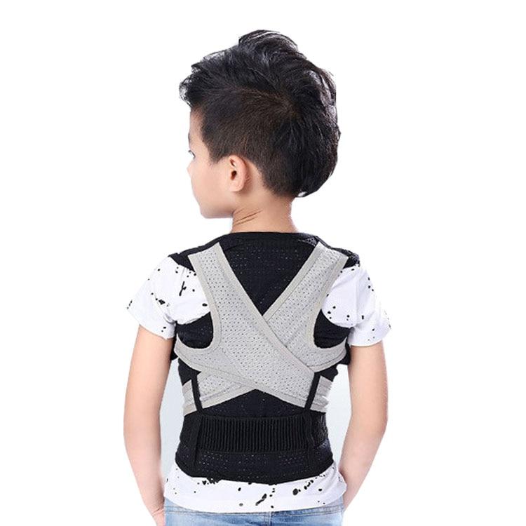 حزام تصحيح الحماقات للأطفال قابل للتكرار حزام تصحيح ظهر الطالب الجبيرة دعامة تصحيح وضع العمود الفقري