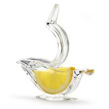 Exprimidor Manual de zumo, accesorio de herramienta de cocina con Clip de acrílico para Limón, naranja, limón, azúcar, zumo de fruta
