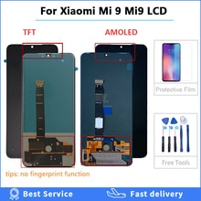 100% testé 6.39 AMOLED Original LCD pour xiaomi Mi 9 Mi9 affichage pour xiaomi 9 LCD écran tactile numériseur assemblée avec cadeau