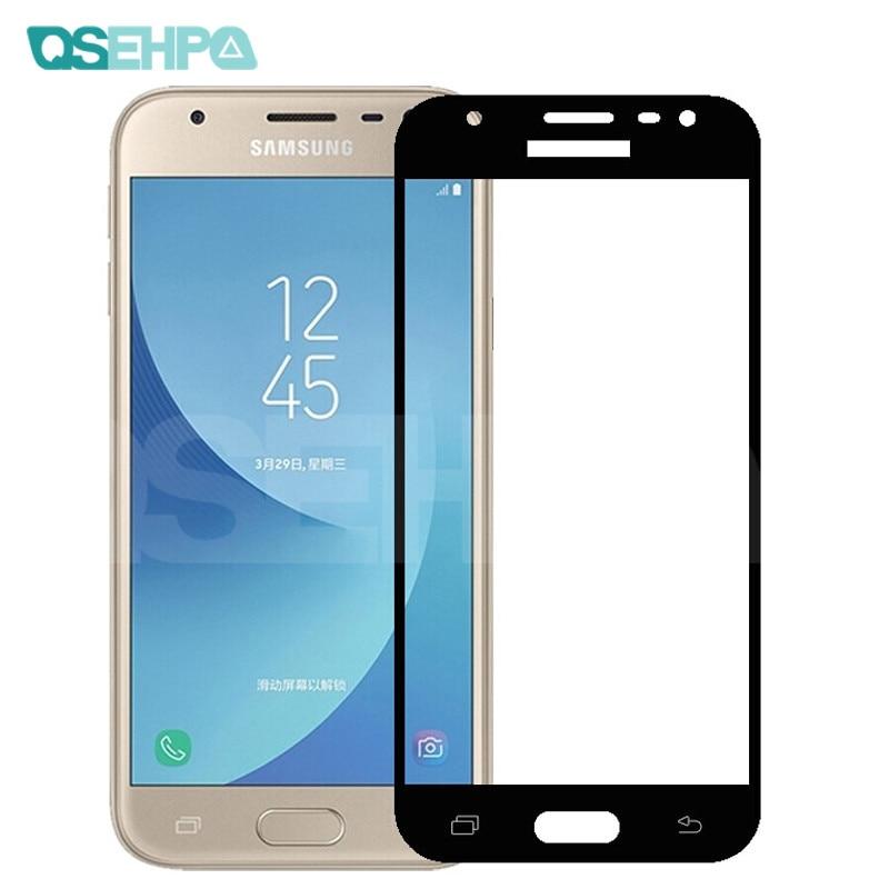 Vidrio Protector 9D para Samsung Galaxy A3 A5 A7 J3 J5 J7 2017 2016 S7 Protector de pantalla de vidrio templado de seguridad