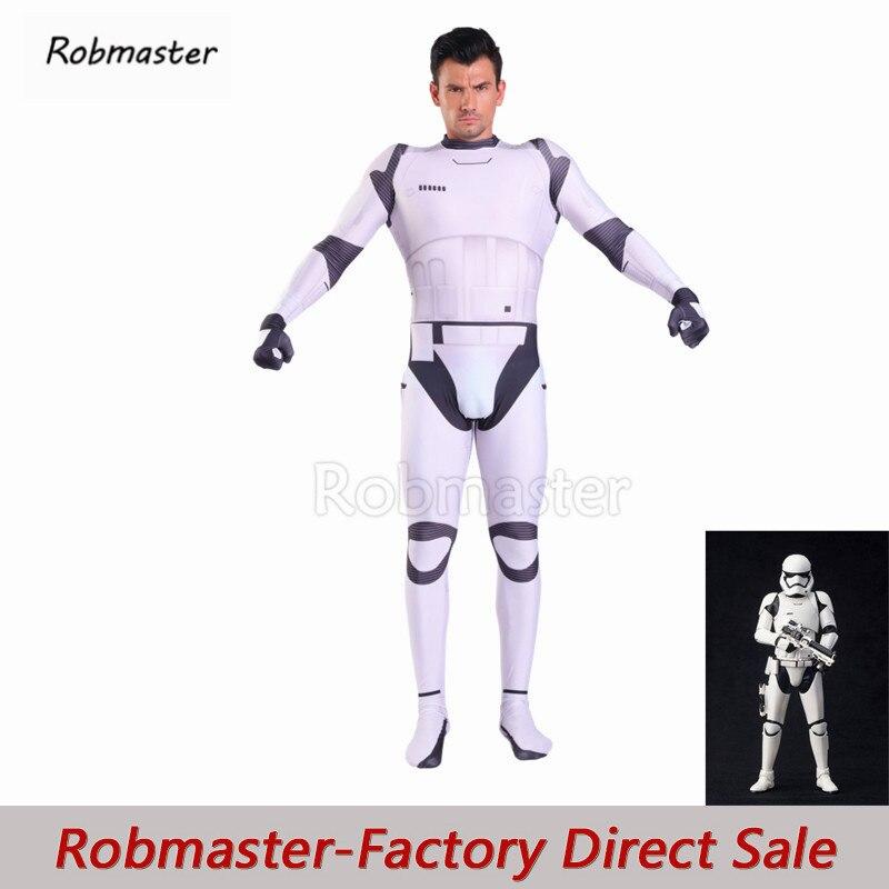 أزياء تنكرية حرب النجوم ، بدلة للجسم من ألياف لدنة ، إيقاظ القوة ، Stormtrooper ، الجيش الإمبراطوري Zentai White Storm Trooper ، أزياء تنكرية