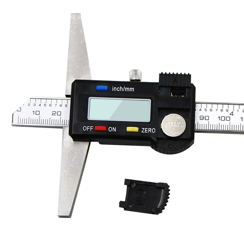 Calibrador electrónico de profundidad Digital de alta precisión, calibrador Vernier de 0-150mm, herramientas de medición de micrómetro, calibre de altura de 0,01mm