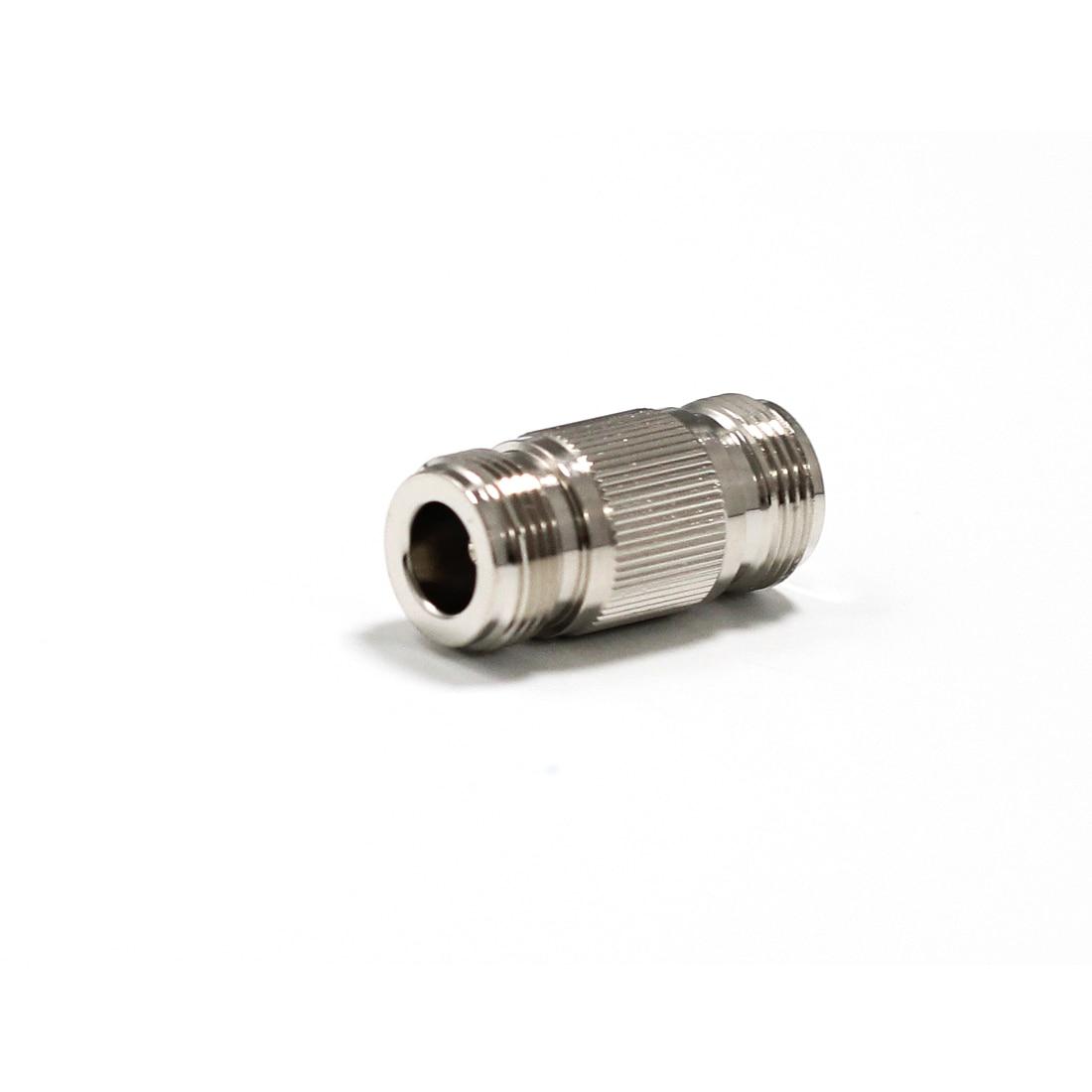 1pc N Female Jack to N Female Jack RF Coax Adapter convertor Connector Straight Nickelplated NEW wholesale