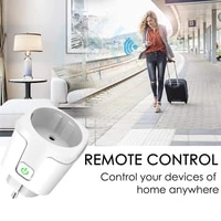 WiFi Smart Plug 16A Wireless Remote Voice Control Power Energy Monitor Outlet Timer Socket for Alexa Google Smart Home APP