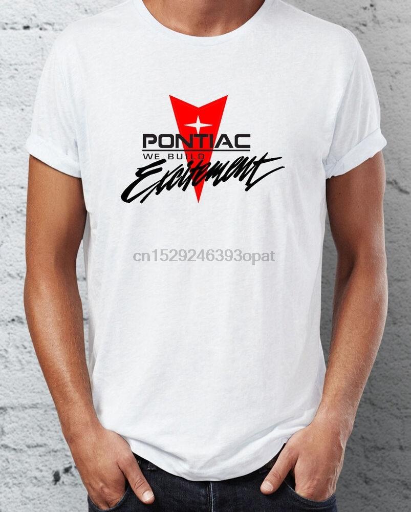Retro Pontiac construir emoción camiseta