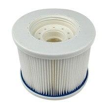 Remplacement de crépine de cartouches filtrantes de 1/2 pièces pour FD2090 accessoires de bains à remous extérieurs de Spa de piscine