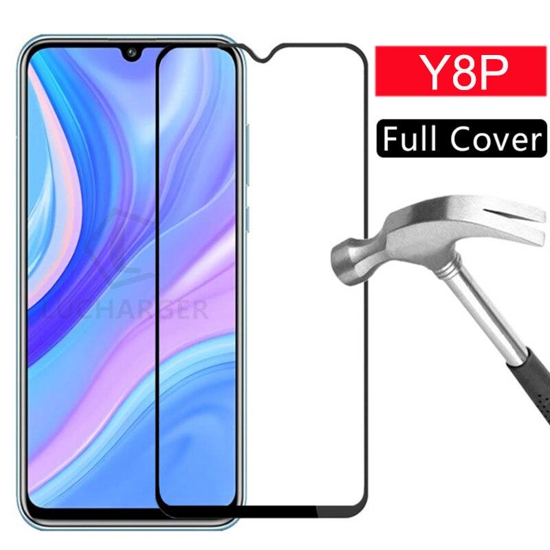 Caso huawei y8p protector de pantalla de vidrio templado cubierta y 8 p 8 y8 p 6,3 funda protectora teléfono coque bolsa mundial huawei y8p de seguridad