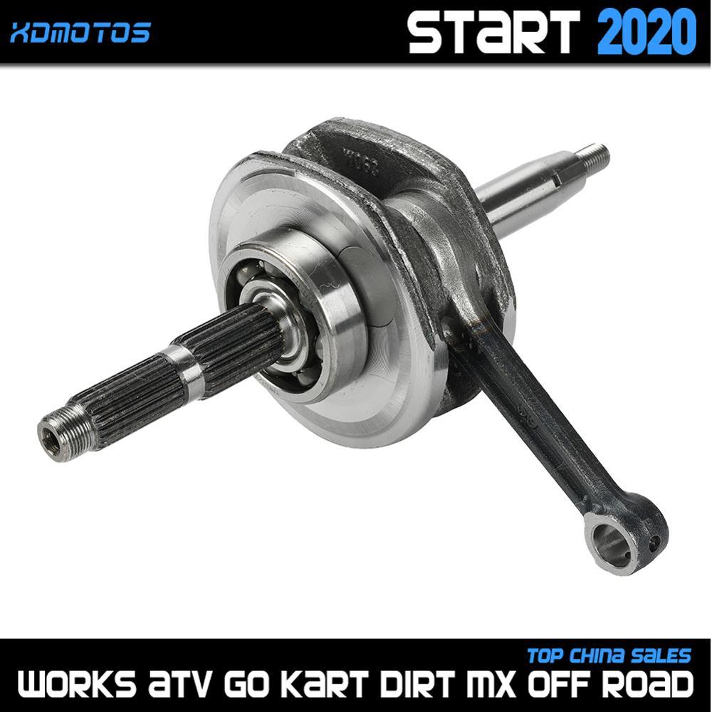 Virabrequim do motor yx140 para 56mm furo yx140 yinxiang 140cc 1p56fmj horizontal motor sujeira pit bicicleta atv quad peças