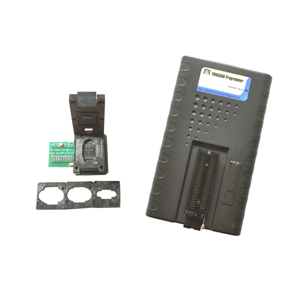 TNM5000 USB EPROM مبرمج مسجل + TNM-BGA169-01 eMMC BGA168 BGA153 داعم محول K9GAG08U0E ل NAND فلاش/EPROM/MCU/JTAG